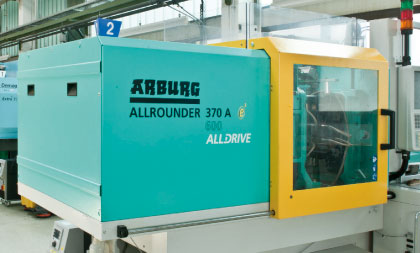 Arburg Spraying machine