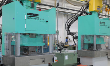 Arburg Vertical Spraying machine
